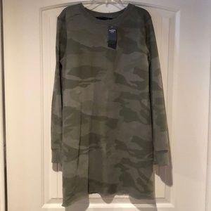 7d5d7f701a1 Abercrombie & Fitch Tops - Abercrombie & Fitch camo sweatshirt dress, ...